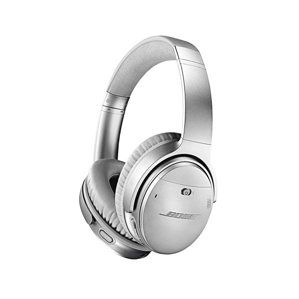 Bose quietcomfort 35 ii plata auriculares inalámbricos acoustic noise cancelling alta calidad