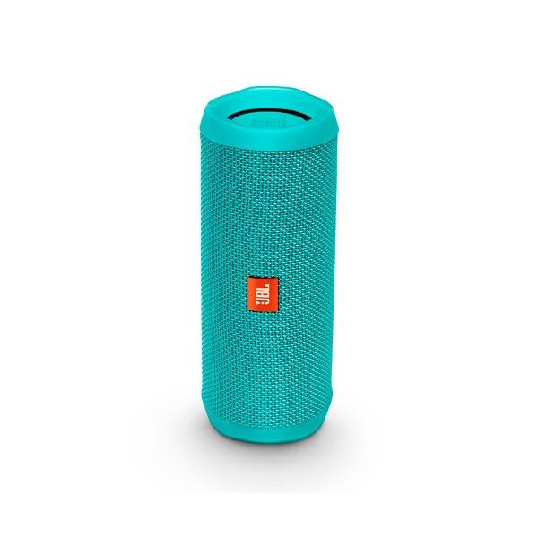 Jbl flip 4 turquesa inalámbrico bluetooth 16w amplificador integrado resistente al agua
