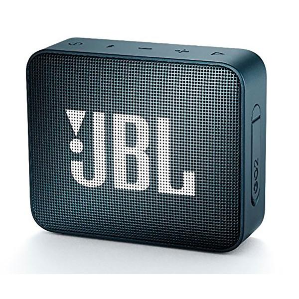 Jbl go2 navy altavoz inalámbrico portátil 3w rms bluetooth aux micrófono manos libres impermeable ipx7