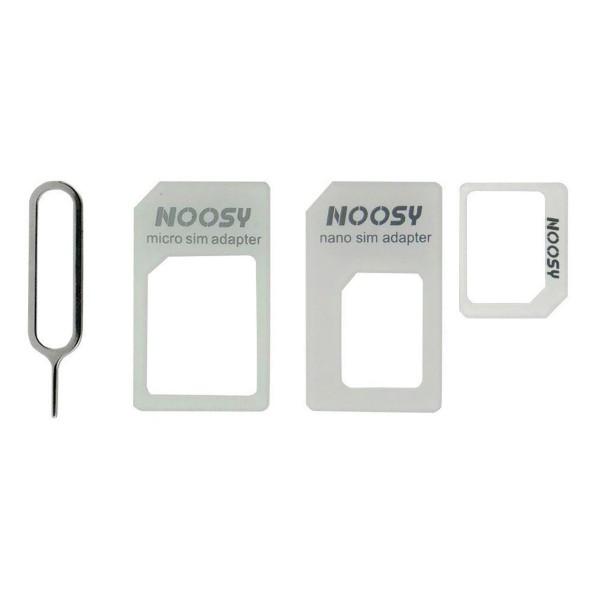 Jc nano sim adapter adaptador de tarjetas sim con aguja de expulsión y acceso a slot