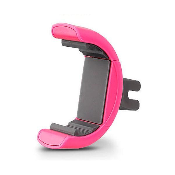 Muvit muchl0049 rosa soporte de coche universal para móvil hasta 5.7''