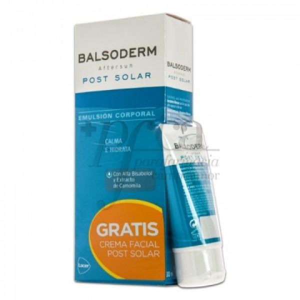 BALSODERM EMULSION 300ML+ CREMA FACIAL 50MLPROMO