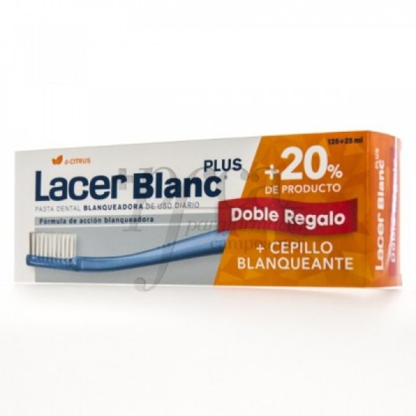 LACERBLANC PLUS D-CITRUS 125+25ML CEPILLO PROMO