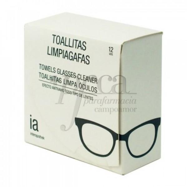 TOALLITAS LIMPIAGAFAS IA 12U