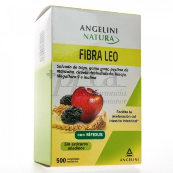 FIBRA LEO CON PROBIOTICO Y PREBIOTICO 500 COMPS