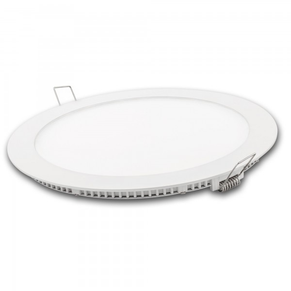 Downlight led redondo blanco 15w.neutra