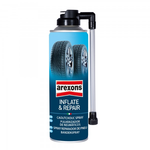 Reparador de pinchazos spray 300 ml.