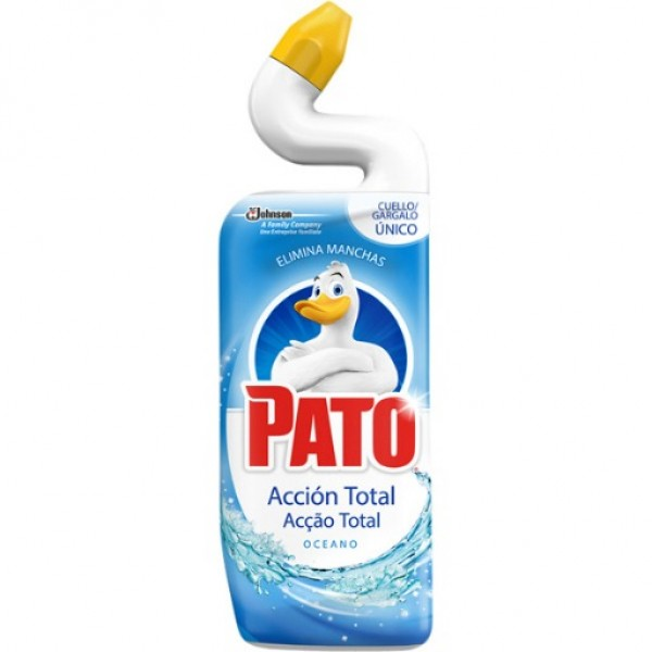 Pato WC accion total oceano  limpia inodoros 750 ml