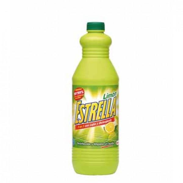Estrella limon limpiador con lejía y detergente 1.5 l