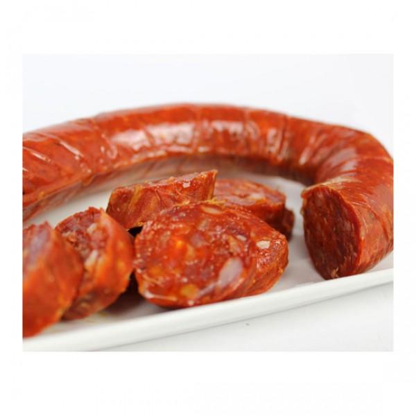 Chorizo sarta dulce producción ecológica (vacío 320 gr. aprox.)