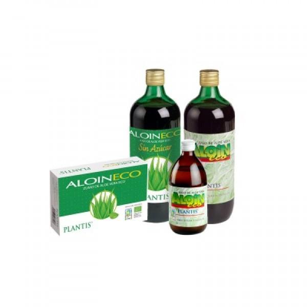 Aloin  eco (zumo de aloe vera en ampollas) 20x10ml