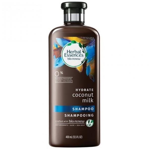 Herbal essences champu hidrata bio leche de coco 400ml.