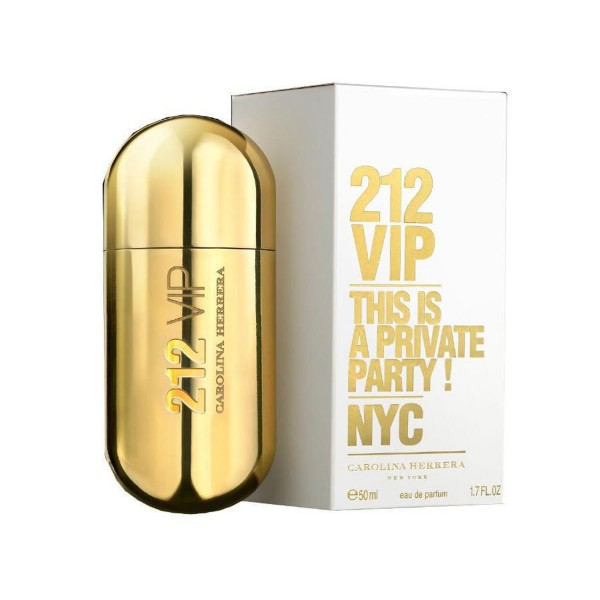 Carolina herrera 212 vip eau de parfum 50ml vaporizador