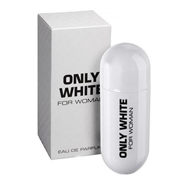 Dyal only white eau de parfum for woman 80ml vaporizador