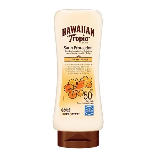Hawaiian tropic satin protection ultra radiance crema spf50+ 180ml