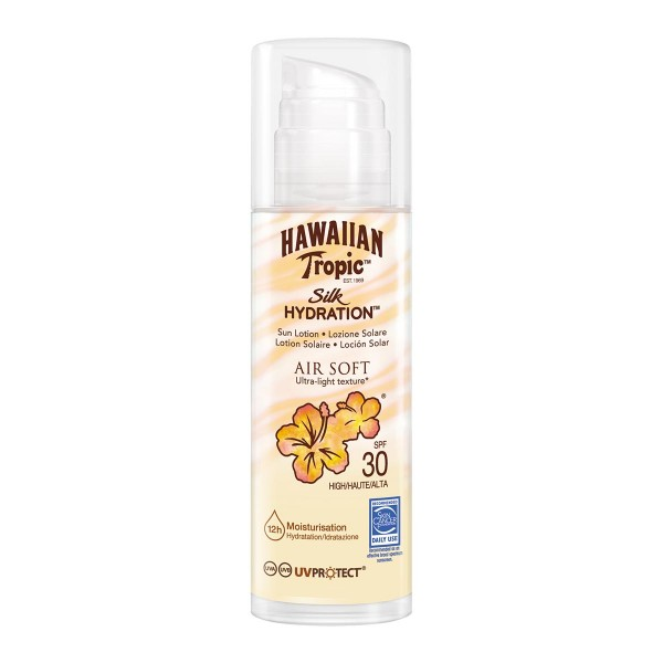 Hawaiian tropic silk hidration air soft ultra-light texture spf30 sunlotion 150ml