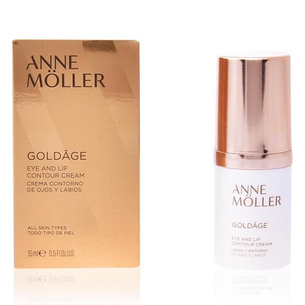 Anne moller goldage crema de ojos y labios 15ml