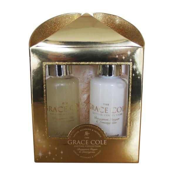 Grace cole bergamota gel 100ml + crema corporal 100ml + esponja 1u