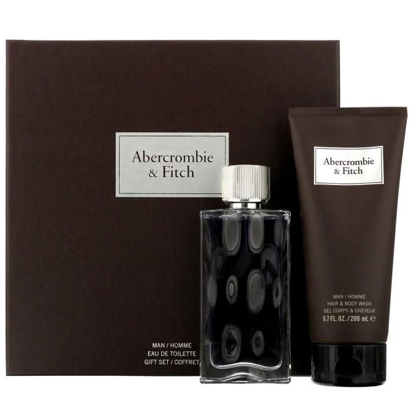 Abercrombie & fitch first instinct eau de toilette for men 100ml vaporizador + body wash 200ml