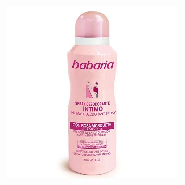 Babaria rosa mosqueta intimo desodorante spray 150ml