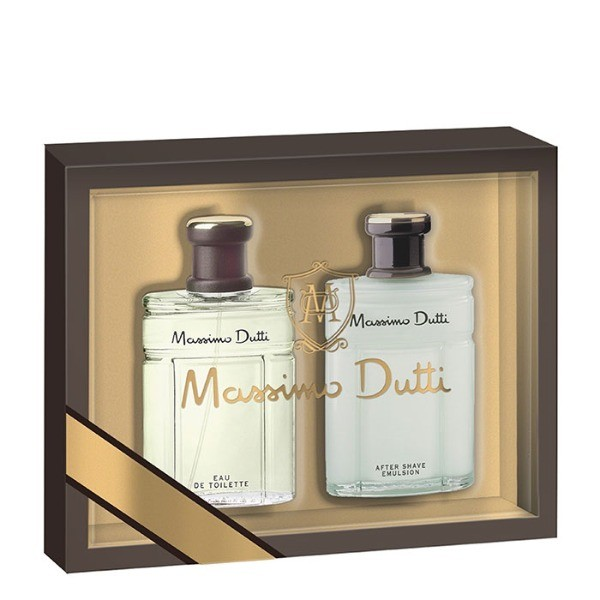 MASSIMO DUTTI SET   For  Him  EDT 100 ml + After Shave emulsión 100 ml
