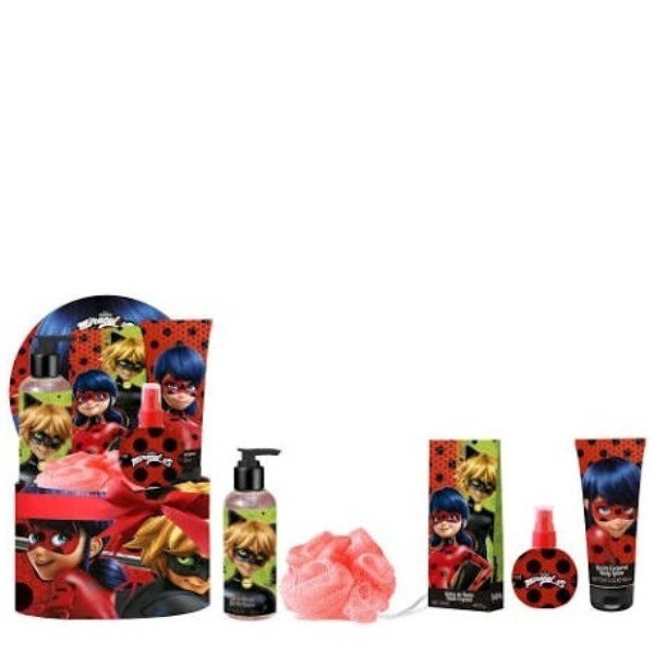 LADY  BUG COFRE SET EDT + SHOWER GEL + BODY LOTION + SALES DE BAÑO