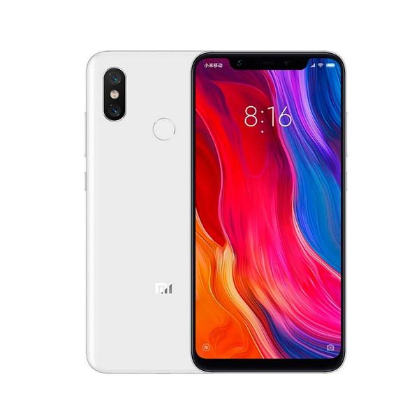 Xiaomi mi 8 blanco móvil 4g dual sim 6.21'' samoled fhd+/8core/128gb/6gb ram/12mp+12mp/20mp