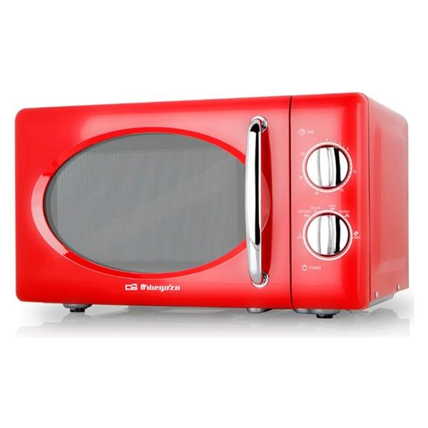 Orbegozo mi2020 microondas rojo