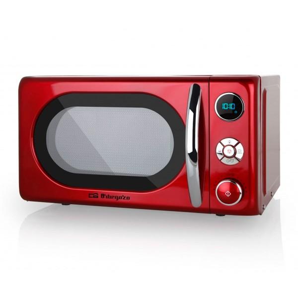 Orbegozo mig2042 microondas rojo con grill