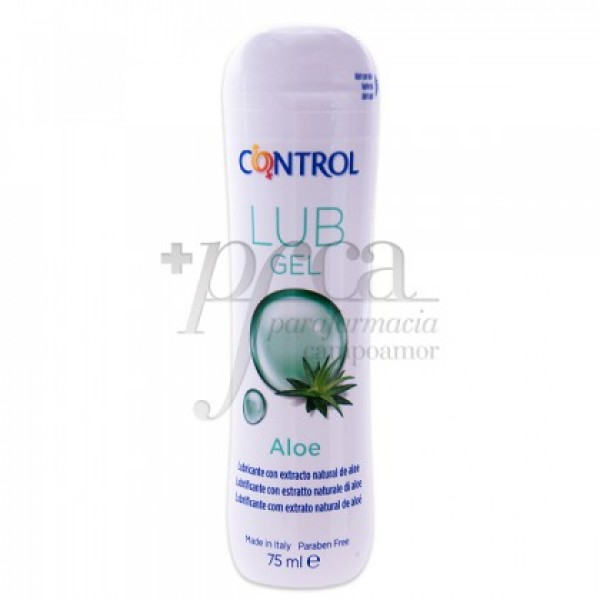 CONTROL LUB GEL ALOE 75 ML