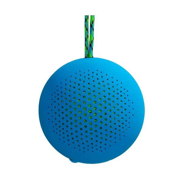 Boompods rokpod azul altavoz portátil 3w rms bluetooth impermeable ipx7
