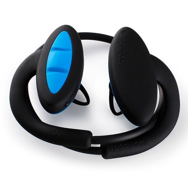 Boompods sportpods 2 negro y azul auriculares deportivos estéreo inalámbricos