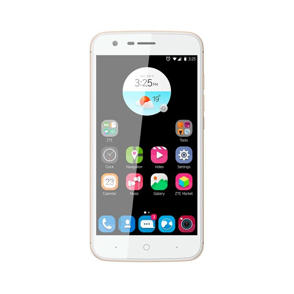 Zte v8 lite dorado móvil dual sim 4g 5'' ips hd/8core/16gb/2gb ram/13mp/8mp