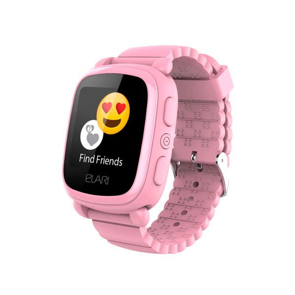 Elari kidphone 2 rosa reloj inteligente smartwatch para niños con localización gps y botón sos exclusivo