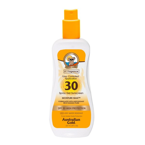 Australian gold cuerpo spray gel spf30 237ml vaporizador