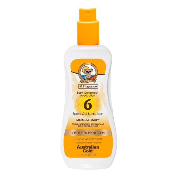 Australian gold cuerpo spray gel spf6 237ml vaporizador
