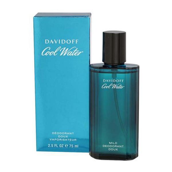 Davidoff cool water desodorante 75ml vaporizador