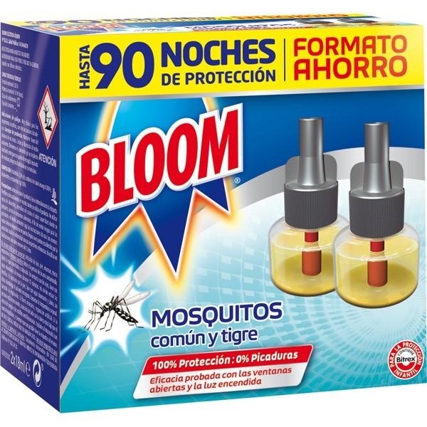 Bloom insecticida eléctrico 2 recambios