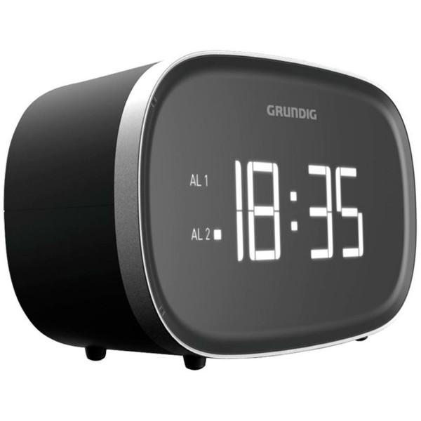 Grundig scn 340 negro radio despertador con radio am y fm