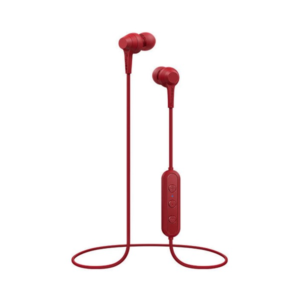 Pioneer se-c4bt rojo auriculares con micrófono de alta calidad bluetooth