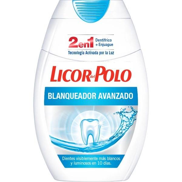 Licor del Polo  Blanqueador Avanzado 2 en 1 , 75 ml