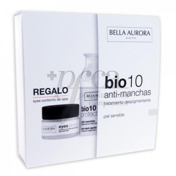 B. AURORA BIO10 P/SENSIBLE 30ML + CONTORNO PROMO