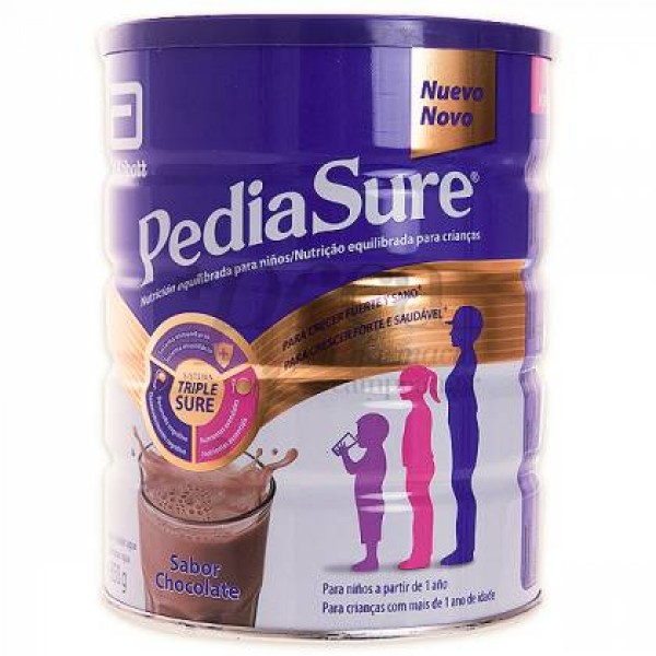 PEDIASURE EN POLVO SABOR CHOCOLATE 850 G