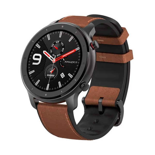 Xiaomi amazfit gtr smartwatch stainless steel 1.39'' 47.2mm amoled gps bluetooth 24h de autonomía