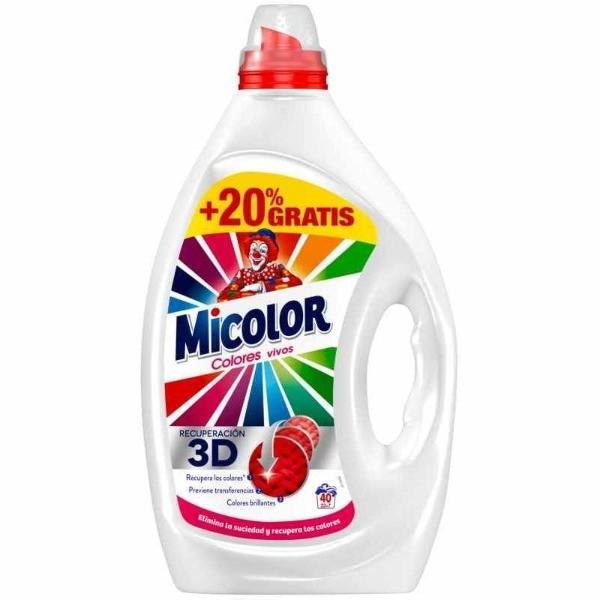 Micolor Gel Colores Vivos 40 dosis