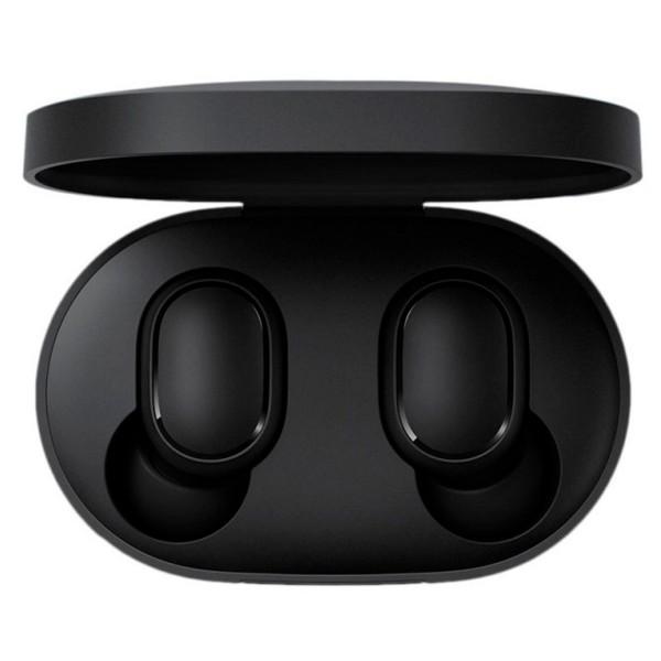 Xiaomi airdots negro auriculares inalámbricos bluetooth diseño tipo botón con estuche de carga