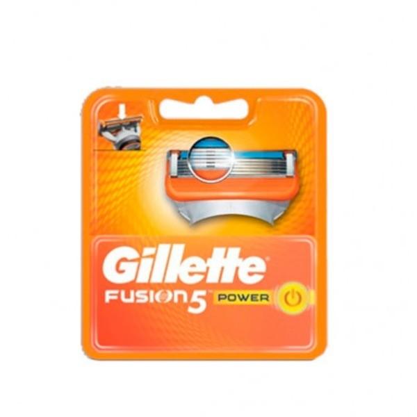 Gillette fusion 5 power recambios 4 uni.